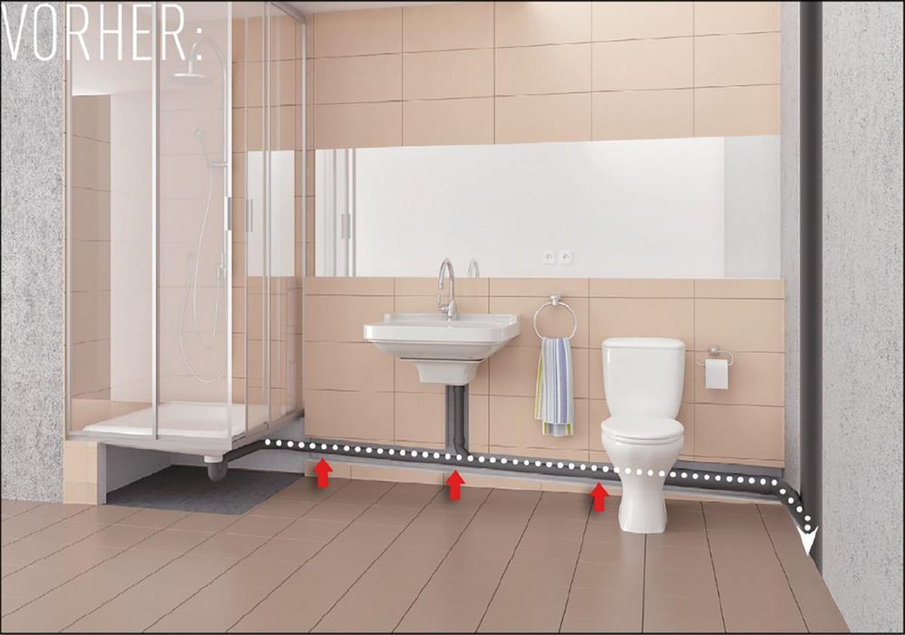 barrierefreie duschen auch im altbau zum nulltarif presse lexikon. Black Bedroom Furniture Sets. Home Design Ideas